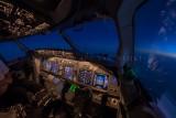 737 wide angle flightdeck
