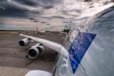Cargolux 747-8 on the apron