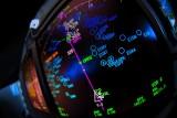 Closeup navigation display