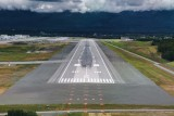 Final runway 7R, Anchorage Alaska
