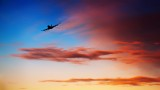 747 - Sunset departure