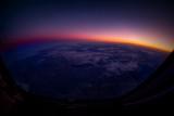 Sunrise over Mongolia