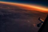 Sunrise over China