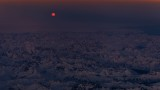 Moonrise over Greenland
