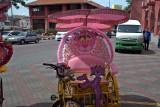 Pink panther rickshaw...