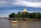 Peaceful morning at Kuching...