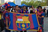 Indonesian Barça supporters...