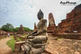 Wat Mahathat giant Buddha