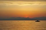 Zonsondergang aan het Gardameer / Lake Garda (Italy)