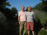 Ken's visit to Elliott at Elliott's house in France - 2013