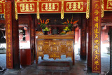 Decorative structure in the Temple of Lecture - Hanoi, Vietnam