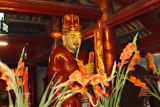 Statue in the Temple of Lecture - Hanoi, Vietnam