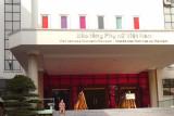 Entrance to the Vietnamese Women's Museum in Hanoi, Vietnam