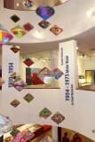 Decorative interior lobby of the Vietnamese Women's Museum in Hanoi, Vietnam