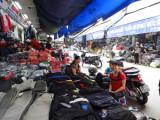 Main market in Hanoi, Vietnam
