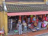 A shop as seen from the Tan Ky House  - Hoi An, Vietnam