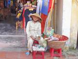 A street vendor - Old Town, Hoi An, Vietnam