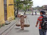 People near the Thu Bon River - Old Town, Hoi An, Vietnam