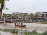 The Thu Bon River - Old Town, Hoi An, Vietnam