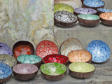 Colorful bowls for sale - Old Town, Hoi An, Vietnam