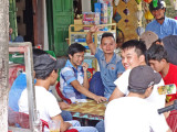 Guys hanging out - Old Town, Hoi An, Vietnam