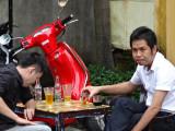 Guys at a cafe - Old Town, Hoi An, Vietnam
