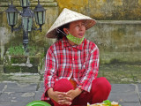 Woman from the previous photo - Old Town, Hoi An, Vietnam