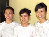 Waitresses at the Secret Garden - Hoi An, Vietnam
