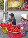 Food vendors - Hoi An, Vietnam