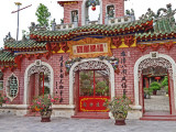 Entrance to the Chinese Meeting Hall (built in the 1800's) - Hoi An, Vietnam