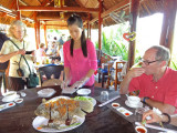 Elephant fish - part of our lunch on an island near My Tho, Mekong Delta, Vietnam