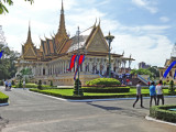 Throne Hall - in the Royal Palace Complex - Phnom Penh, Cambodia