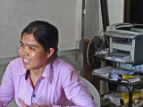 Sitha works directly with our sponsored young ladies. She functions like a social worker - Phnom Penh Cambodia