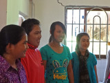 The college students who live in the room (apartment) are shown here. We sponsor three of them - Phnom Penh, Cambodia
