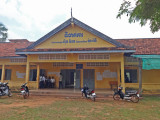 Our sponsored young ladies attend high school here - rural village in the Sandan District of the Kompong Thom Province, Cambodia