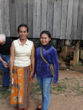 A sponsored young lady (high school student) and her mother - they graciously let us see the inside of their house