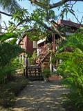 Sally at the Sambo Village Hotel, Kompong Thom Province, Cambodia