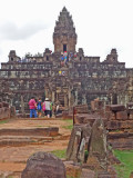 Bakong Temple - Hindu temple constructed in the late 9th century c.e. - part of the Roluos Group, Cambodia