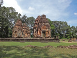 Preah Ko - Hindu temple constructed in the late 9th century c.e. - part of the Roluos Group, Cambodia