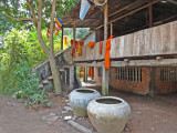 Home of Hindu monks near the Lolei Temple - found by Stacy while she wandered near the Temple