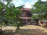 Unusually elegant house - while traveling to Tonle Sap Lake, Cambodia