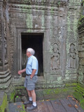 Stan at the Ta Prohm Temple in Angkor, Siem Reap Province, Cambodia