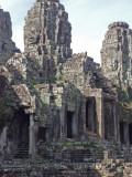 Bayon Temple in Angkor Thom, Siem Reap Province, Cambodia