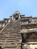 The stairs of Angkor Wat - Angkor, Siem Reap Province, Cambodia