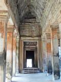 Walkway in Angkor Wat - Angkor, Siem Reap Province, Cambodia