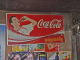 Coke is everywhere - even at the holy Angkor Wat - Siem Reap Province, Cambodia