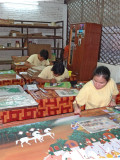 Artisans at the Artisans d'Angkor cooperative - Siem Reap, Cambodia