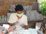 An artisan at the Artisans d'Angkor cooperative - Siem Reap, Cambodia