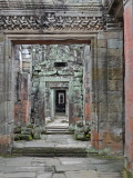 Walkway at Preah Khan - Angkor, Siem Reap Province, Cambodia