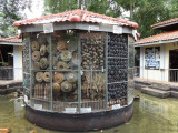 Housings of old mines at the Cambodian Landmine Museum Relief Facility (CLMMRF) - Angkor, Siem Reap Province, Cambodia